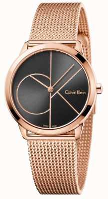 Calvin Klein Женский ремешок с сеткой из розового золота K3M22621