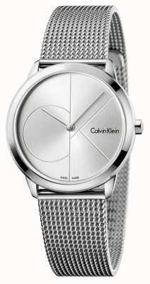 Calvin Klein Женская минимальная сетка из нержавеющей стали K3M2212Z