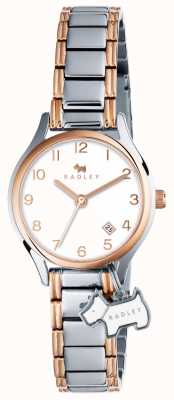 Radley Женская лиственница уличный браслет серебро розовое золото RY4265
