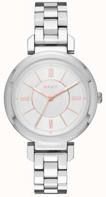 DKNY Женские серебряные часы из elltonton NY2582