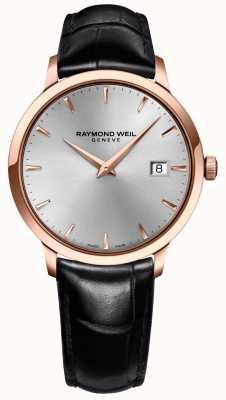 Raymond Weil Мужская токатовая серебристая кожа 5488-PC5-65001