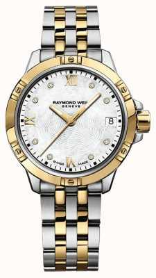 Raymond Weil Женские часы танго | ремешок из нержавеющей стали | белый циферблат | 5960-STP-00995