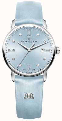 Maurice Lacroix Женщин eliros восемь бриллиантов синий EL1094-SS001-550-1