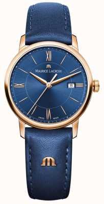 Maurice Lacroix Женская кожа eliros синяя EL1094-PVP01-411-1