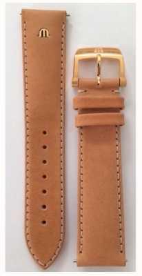 Maurice Lacroix   20мм ремешок из верблюжьей кожи розовое золото   без пряжки ML740-005014