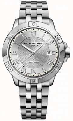 Raymond Weil Мужское танго стальное серебро 8160-ST-00658