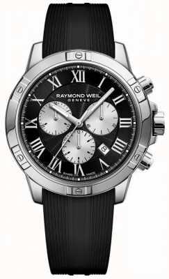 Raymond Weil Мужской танго хронограф черный швейцарский 8560-SR-00206