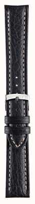 Morellato Только ремешок - черный кожаный ремешок из натуральной кожи kuga A01U3689A38019CR18