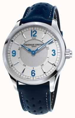 Frederique Constant Мужская часовая кожаный ремешок для часов Bluewatch FC-282X5B6