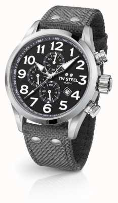 TW Steel Серый 45-миллиметровый хронограф VS13