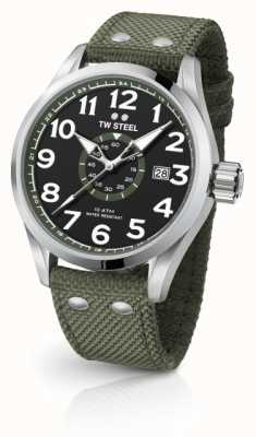 TW Steel Mens volante Army зеленый 45mm VS21