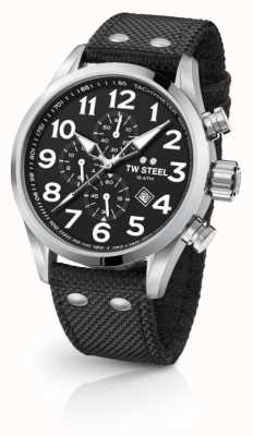 TW Steel Черный 45-дюймовый хронограф VS3
