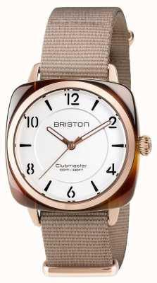 Briston Unisex clubmaster шикарный бежевый ацетат pvd розовое золото 17536.PRA.T.2.NT