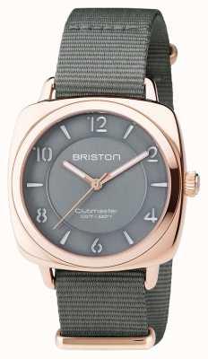 Briston Unisex clubmaster шик серый pvd розовое золото 17536.SPRG.L.17.NG
