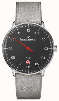 MeisterSinger Мужская форма и стиль neo plus автоматический черный NE402