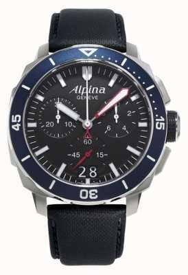 Alpina Mens seastrong diver 300 большая дата AL-372LBN4V6