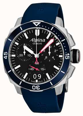 Alpina Мужская Seastrong Diver 300 большая дата AL-372LBN4V6