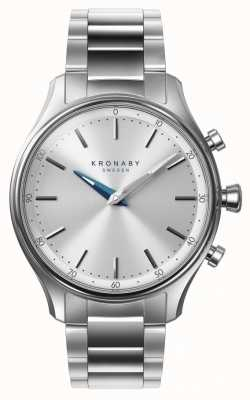 Kronaby 38mm sekel bluetooth браслет из нержавеющей стали smartwatch A1000-0556