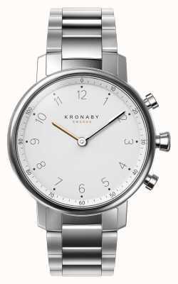 Kronaby 38мм браслет из нержавеющей стали из нержавеющей стали smartwatch A1000-0710
