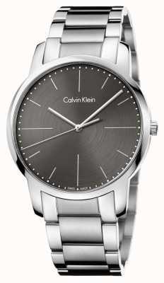 Calvin Klein Серый циферблат из нержавеющей стали из нержавеющей стали K2G2G1Z3