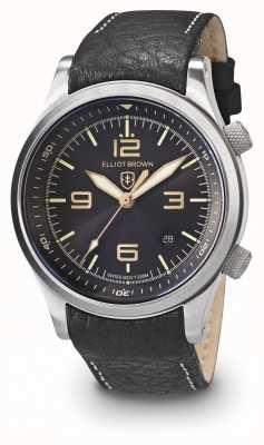 Elliot Brown Мужские кэнфорд черный и золотой нержавеющая сталь 202-021-L17