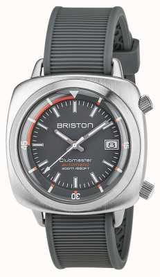 Briston Unisex clubmaster diver матовая сталь авто серый 17642.S.D.17.RG