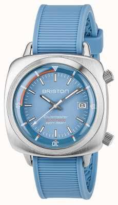 Briston Unisex clubmaster diver матовая сталь auto blue 17642.S.D.18.RLB