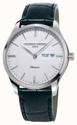 Frederique Constant Мужская классика кварцевый черный кожаный ремешок белый циферблат FC-225ST5B6