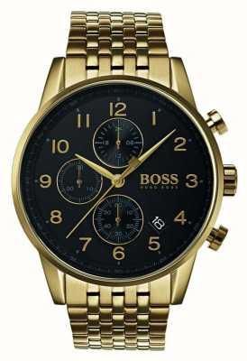 Hugo Boss Мужские навигационные классические черные циферблатные часы 1513531