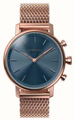 Kronaby 38mm carat bluetooth розовый золотой циферблат smartwatch A1000-0668