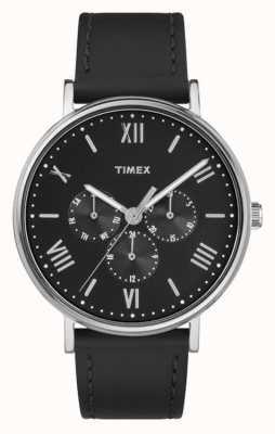 Timex Mens southview многофункциональный хронограф черный TW2R29000