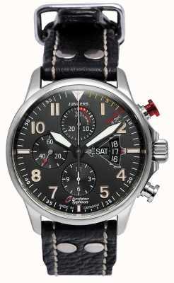 Junkers Мужские юнкерс 3 еврономера хронограф автоматический черный 6826-5