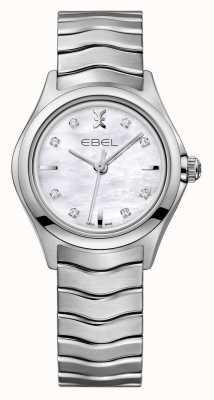 EBEL Волшебные женские часы из нержавеющей стали 1216193