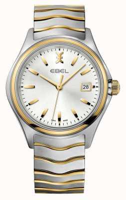 EBEL Волновые мужские двухцветные золотые часы 1216202