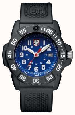 Luminox Военно-морская печать 3500 синий циферблат черный черный ремешок XS.3503