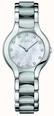 EBEL Женская бриллиантовая сетка из белуги из нержавеющей стали 1216038