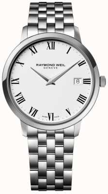 Raymond Weil Браслет из нержавеющей стали из нержавеющей стали toccata белого цвета 5588-ST-00300