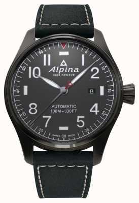 Alpina Стартер мужской пилот автоматический черный ремешок AL-525G4TS6