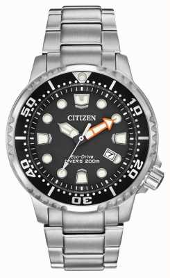 Citizen Mens eco-drive promaster divers из нержавеющей стали BN0150-61E