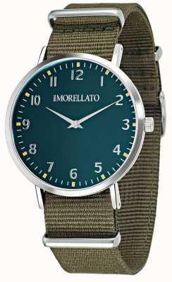 Morellato Мужская вела зеленая циферблат / ремешок R0151134004