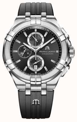 Maurice Lacroix Мужские часы aikon chronograph AI1018-SS001-330-2