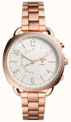 Fossil Q сообщник гибридный smartwatch розовое золото тон FTW1208