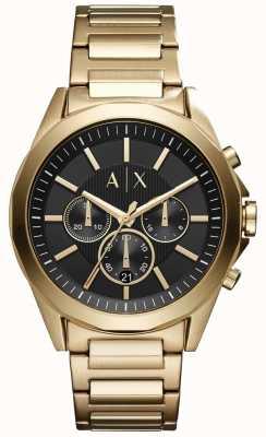 Armani Exchange Мужская хронограф из нержавеющей стали черный циферблат AX2611