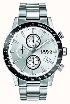 Hugo Boss Мужская рамная хронография белого циферблата 1513511