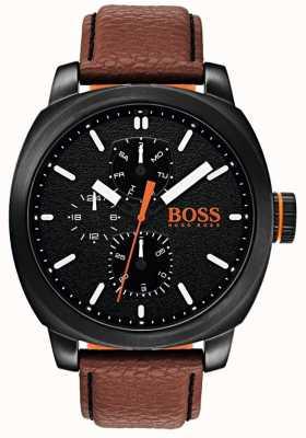 Hugo Boss Orange Мужской циферблат часов черный 1550028