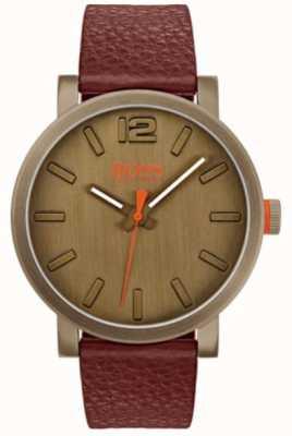 Hugo Boss Orange Мужские часы из бильбао в коричневом 1550036