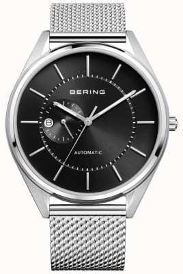 Bering Мужская автоматическая серебряная серебряная браслет 16243-077