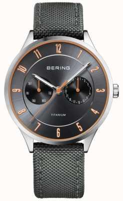 Bering Мужской ультралегкий титановый нейлон серый 11539-879