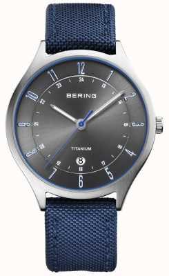 Bering Мужской ультралегкий титан нейлоновый синий 11739-873