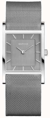Bering Классический квадратный серебряный миланский ремешок 10426-309-S